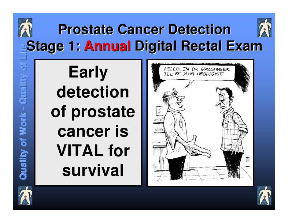 image The annual prostate exam by doctor mom