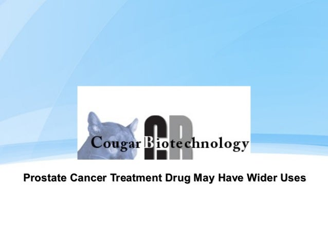 Prostate Cancer Treatment Drug May Have Wider Uses