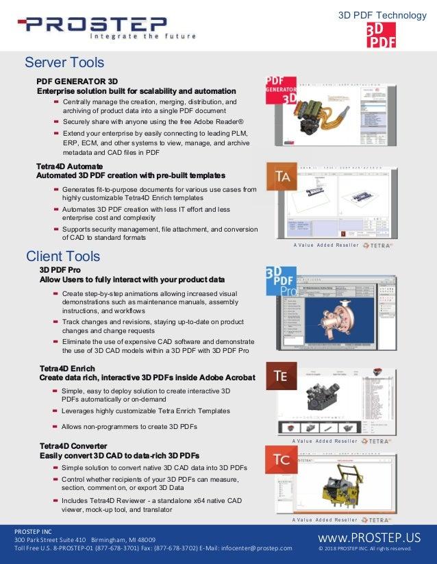 PROSTEP 3D PDF Technologies