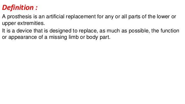 define prothesis prosthetic Definição de prosthetic nos significados em português rimas de prosthetic.