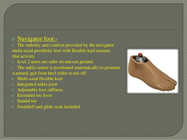8ba4874c944b Prosthetics foot