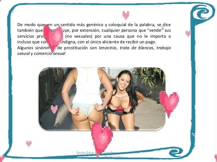prostitutas colombia lenocinio y trata de personas