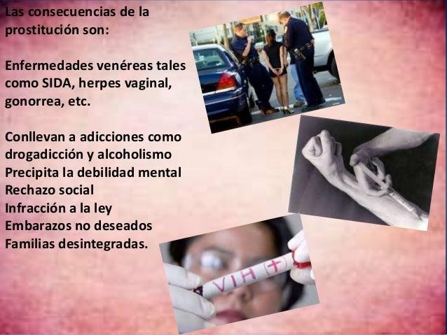 consecuencias de la prostitucion