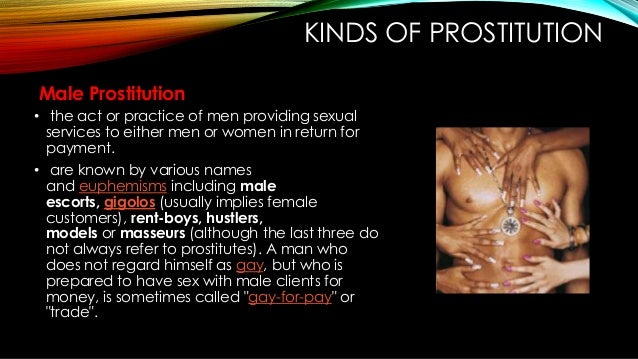 How much do male prostitutes make