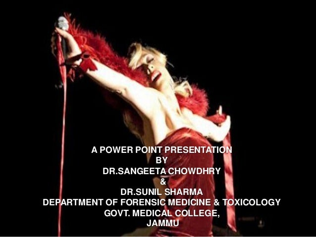 A POWER POINT PRESENTATION                     BY           DR.SANGEETA CHOWDHRY                      &              DR.SU...