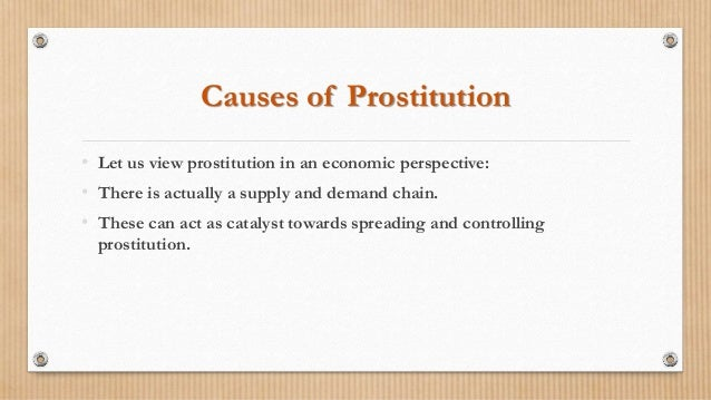 negative outcome for legalizing prostitution