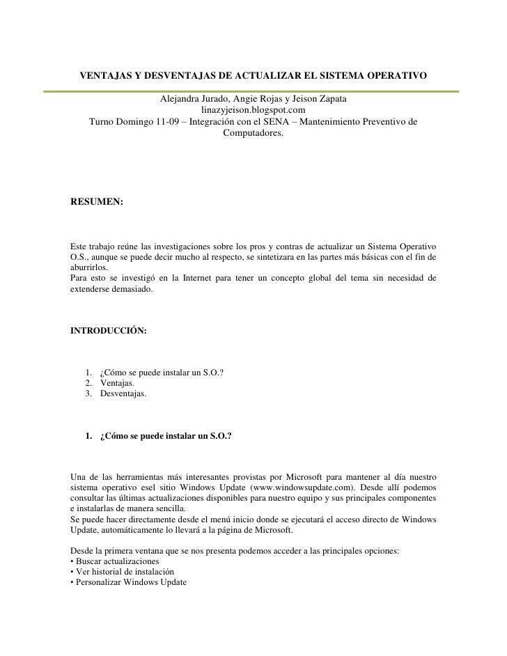 Pros y contras de actualizar el os - Microcemento pros y contras ...