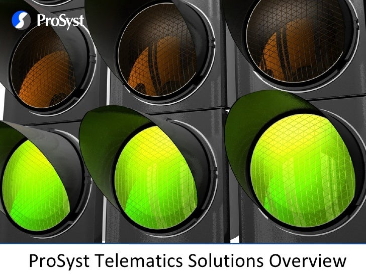 ProSyst - Telematics Solutions Introduction