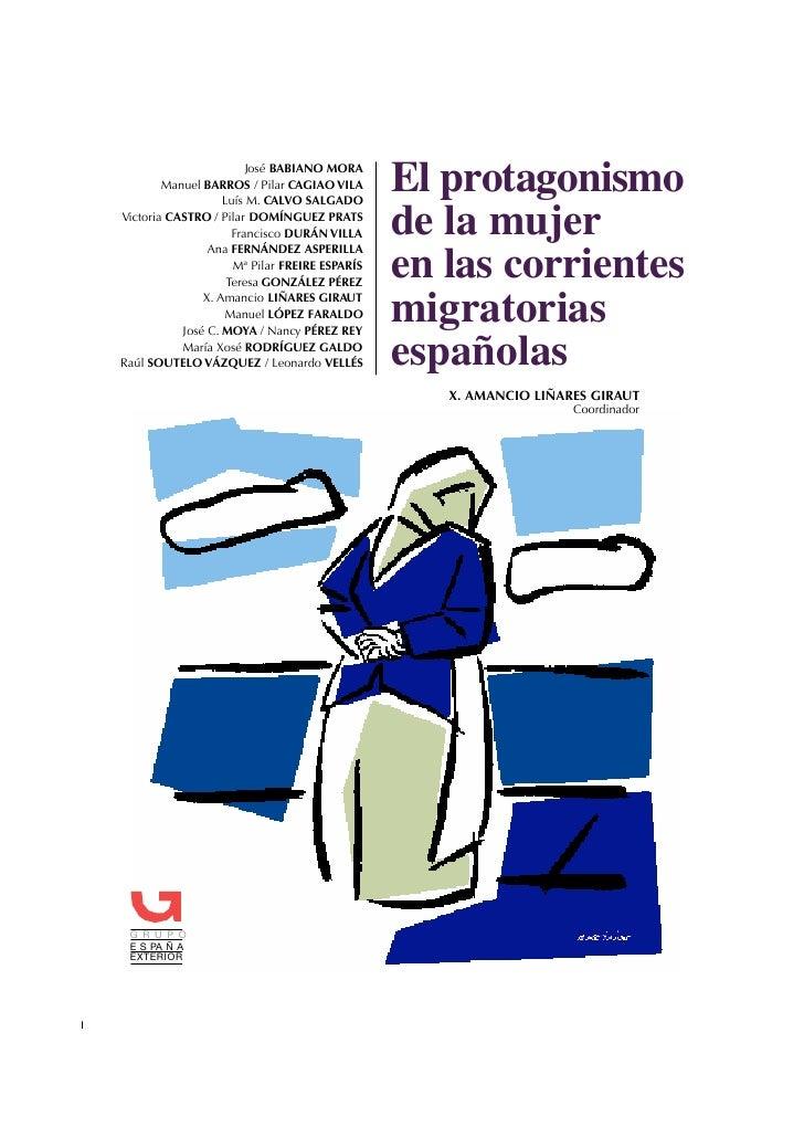 José BABIANO MORA G R U P O E S PA Ñ A                      Manuel BARROS / Pilar CAGIAO VILA                             ...
