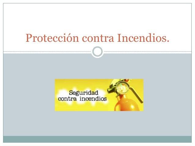 Protecci n contra incendios for Pinturas proteccion contra incendios