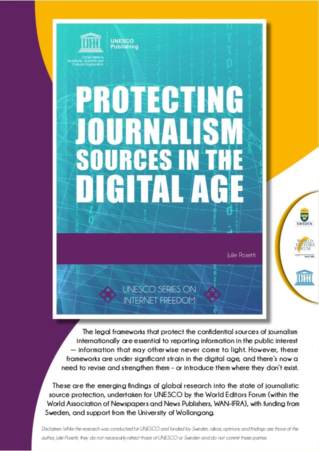 journalism in the digital age Under the supervision of the cdmsi, drawing upon the existing council of europe standards and the relevant case-law of the european court of human rights, the msi-joq will prepare a standard-setting proposal on criteria and measures for ensuring a favourable environment for the practice of quality journalism in the digital age.