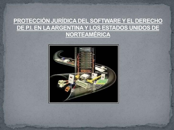  La importancia de la cuestión en América latina y en especial en Argentina, es que el    mercado de las tecnologías de i...