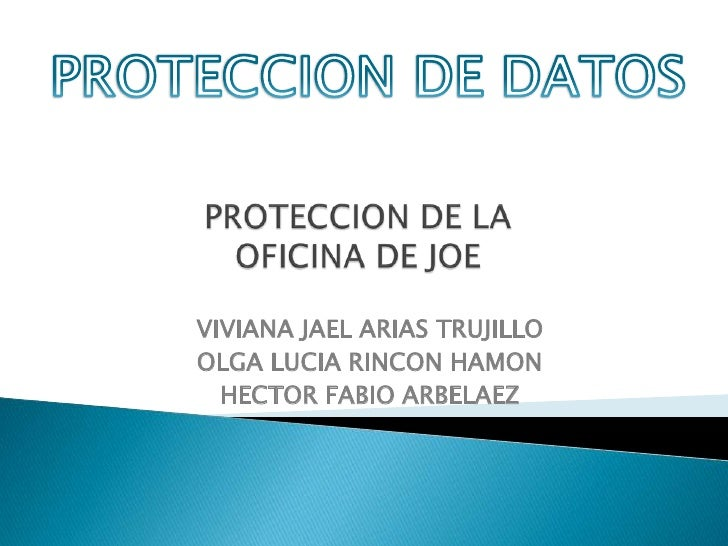 proteccion de datos auditoria