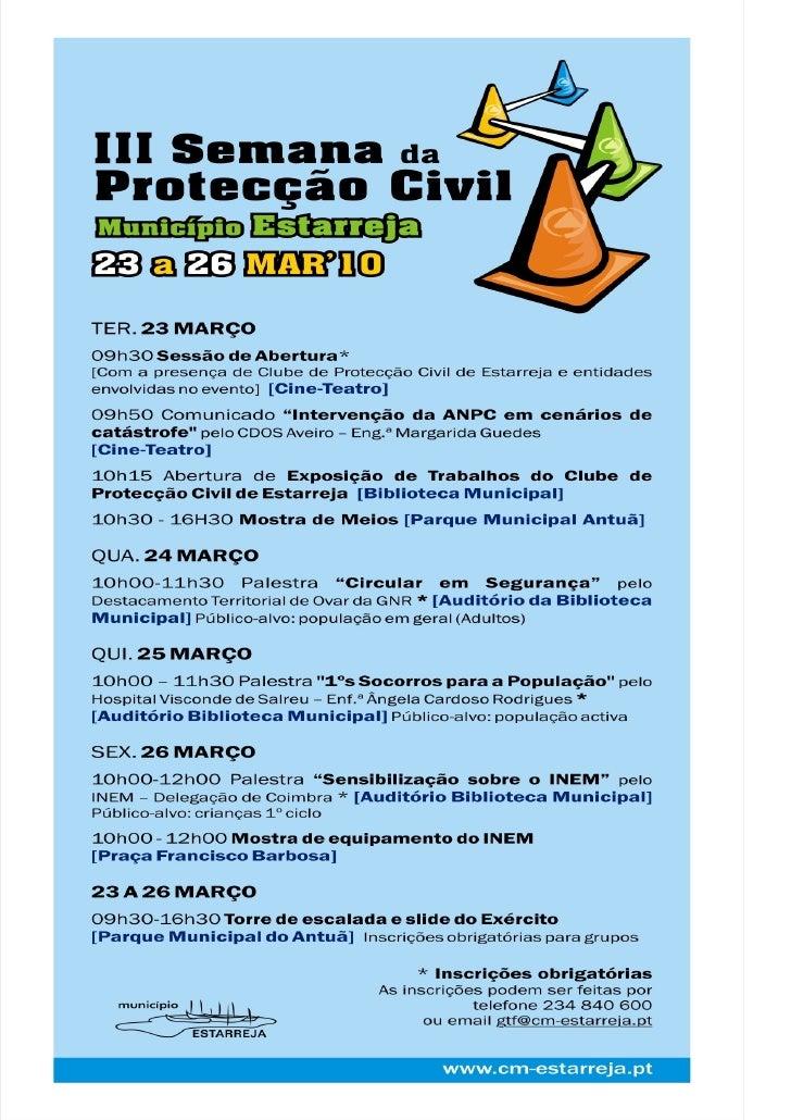 ProtecçãO Civil 2010