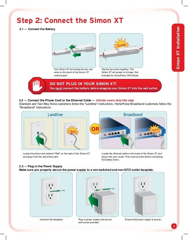 protect america home security systems installation manual and user gu rh slideshare net Simon XT User Manual PDF Inside Simon XT