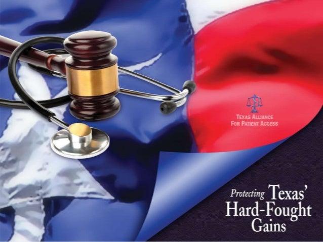 Protecting Texas' Liability Reforms (PIAA 2014)