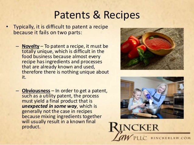 Lawline presentation protecting the agribusiness managing contract patents recipes forumfinder Gallery