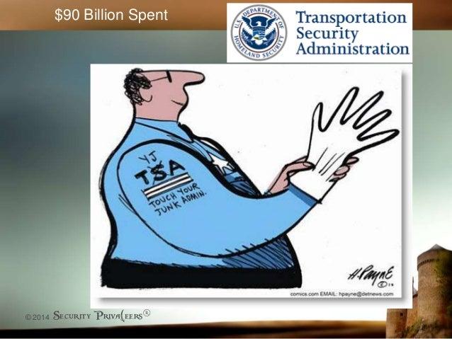 © 2014 Security Priva(eers® $90 Billion Spent