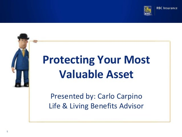 1 Presented by: Jeff Romansky Protecting Your Most Valuable Asset Presented by: Carlo Carpino Life & Living Benefits Advis...
