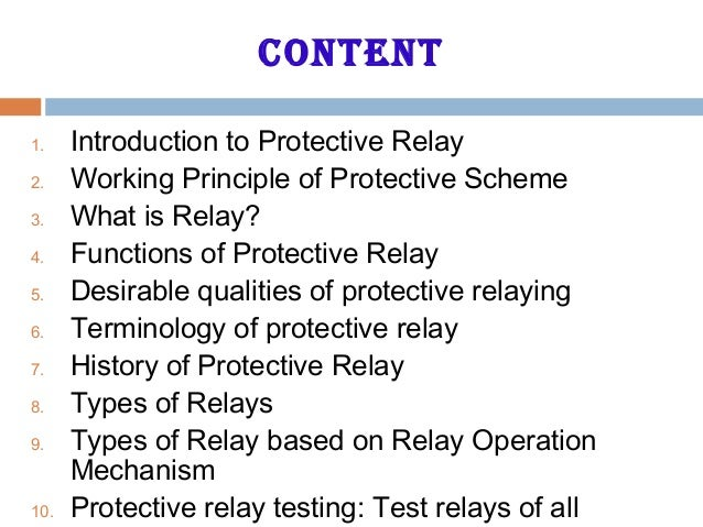 Protection basic