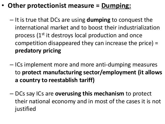Dumping (pricing policy)