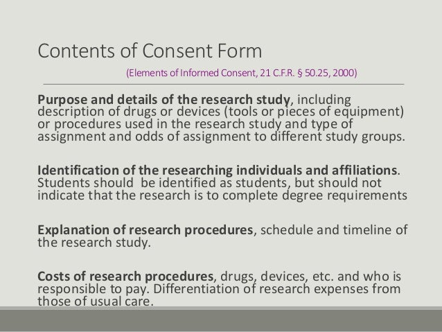 informed consent in canada essay In our increasingly litigious society, understanding and implementing informed consent is more important than ever what is informed consent informed consent is a process whereby a patient voluntarily agrees to proposed treatment after a discussion of advantages, disadvantages, risks, and alternatives.