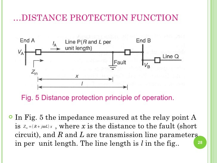power system protection rh slideshare net Relay Circuit Schematic Simple Relay Circuit Diagram