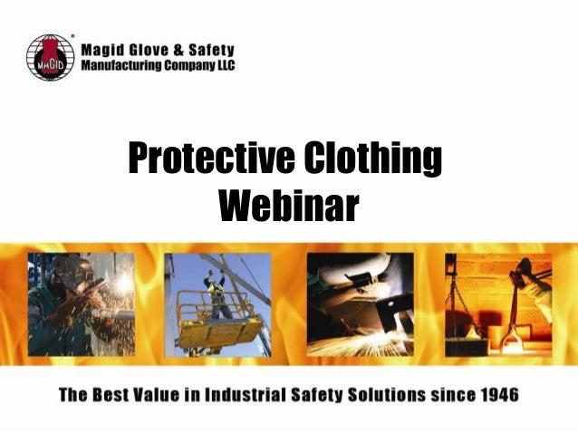 Protective Clothing Webinar