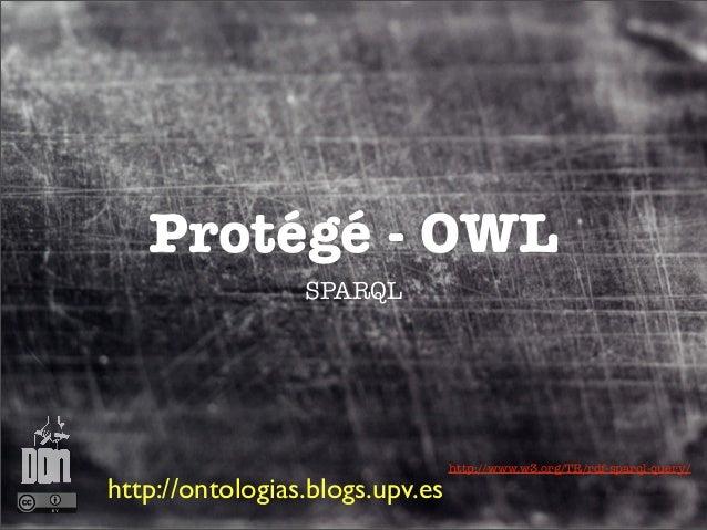 Protégé - OWL                 SPARQL                                 http://www.w3.org/TR/rdf-sparql-query/http://ontologi...