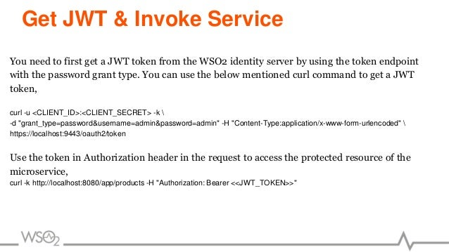Microservice Protection With WSO2 Identity Server