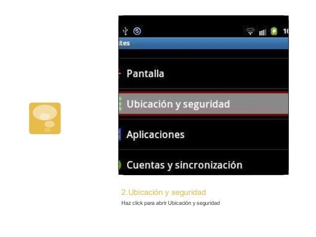 2.Ubicación y seguridadHaz click para abrir Ubicación y seguridad