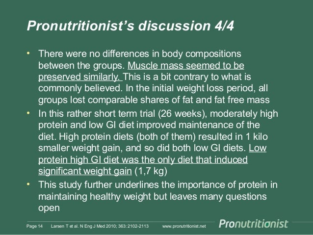Pronutritionist's discussion 4/4 • There were no differences in body compositions between the groups. Muscle mass seemed t...