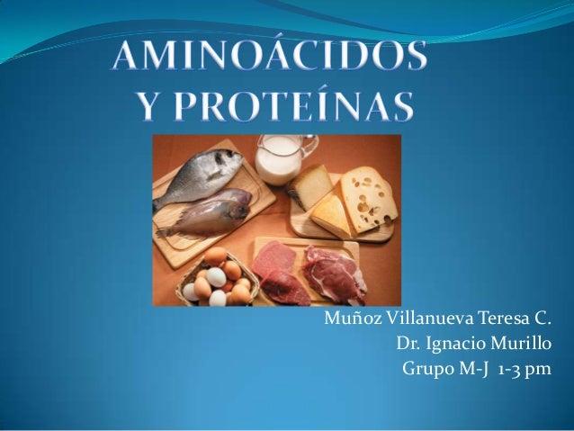 Muñoz Villanueva Teresa C. Dr. Ignacio Murillo Grupo M-J 1-3 pm