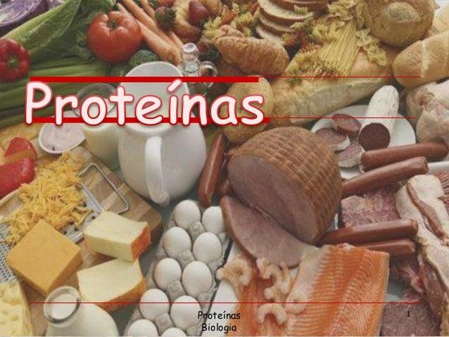 Proteínas Biologia 1