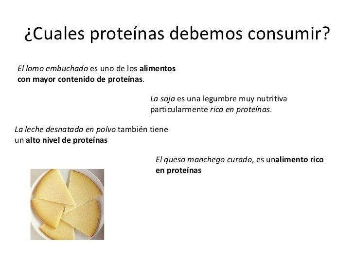 - Alimentos ricos en proteinas pdf ...