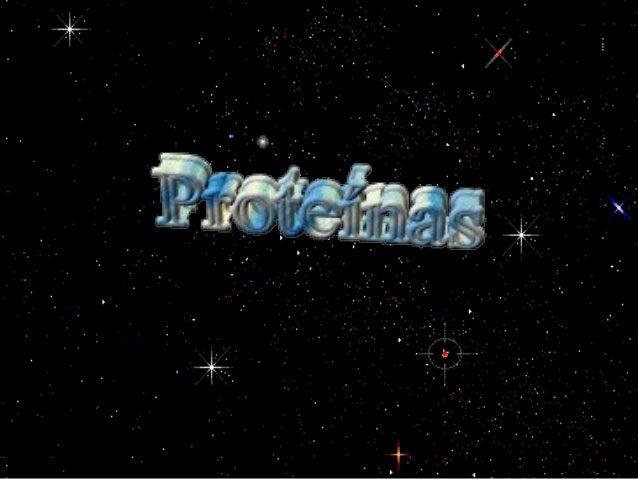 Proteínas• Composición Principal–Carbono (C)–Hidrógeno (H)–Oxígeno (O)–Nitrógeno (N);