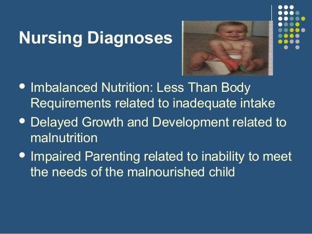 Diet plan protein energy malnutrition