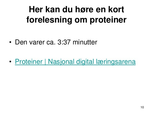 denaturering protein