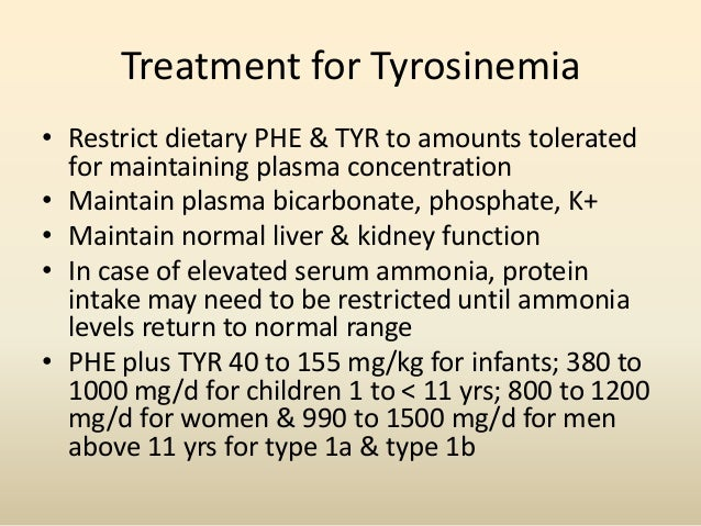 inborn metabolic disease tyrosinemia essay Most inborn forms of tyrosinemia which is considered a pathognomonic indicator for the disease type ii tyrosinemia can pathophysiology of metabolic.