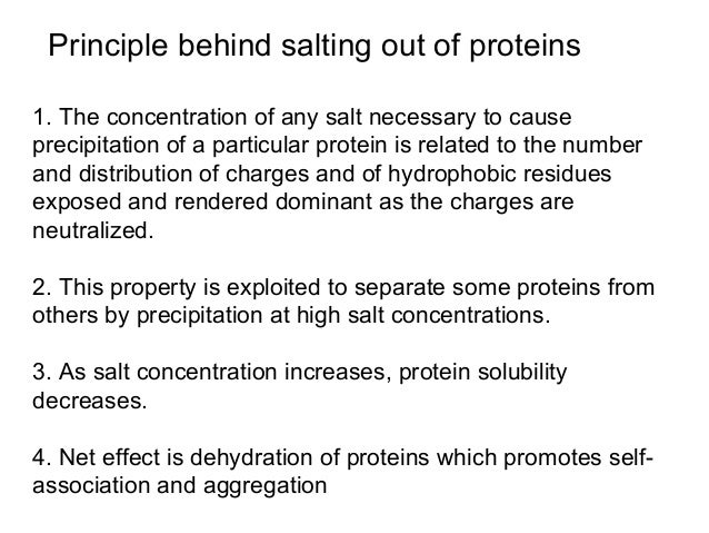 protein precipitation by ammonium sulphate pdf