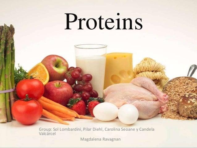 ProteinsGroup: Sol Lombardini, Pilar Diehl, Carolina Seoane y CandelaValcárcelMagdalena Ravagnan