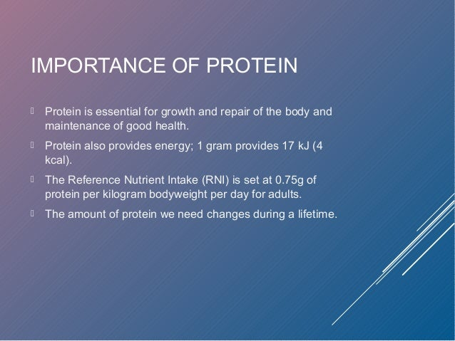 Protein supplements facts sheet