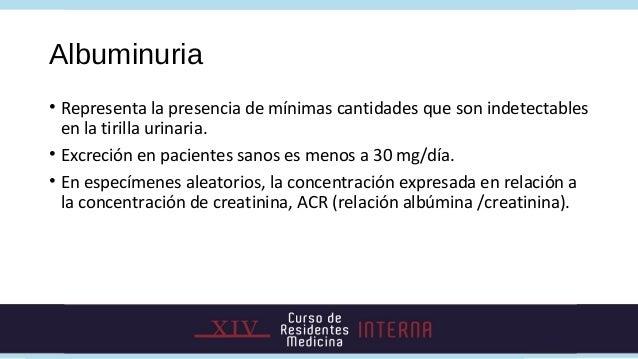• Tirilla urinaria para detección de albúmina:• Tirillas especiales con reactivos capaces de detectar pequeñas  cantidades...