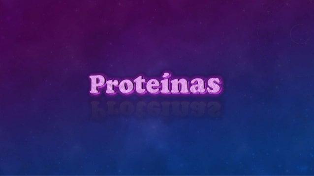 Las proteínas son compuestos químicos muy complejos que se encuentran en todas las células vivas: en la sangre, en la lech...
