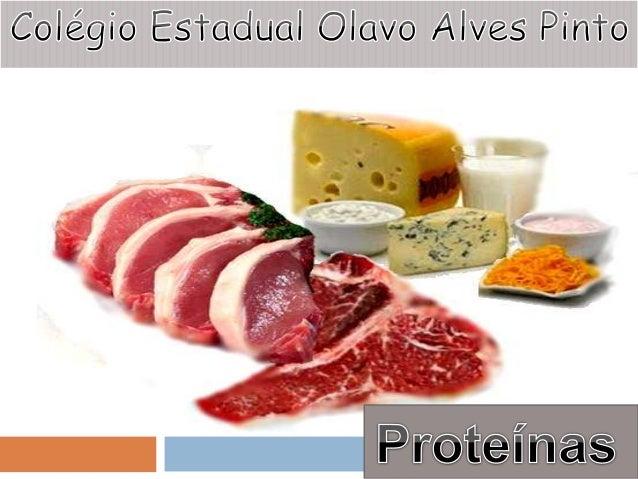 O QUE SÃO PROTEÍNAS? As proteínas são as moléculas orgânicas mais abundantes e importantes nas células e perfazem 50% ou m...