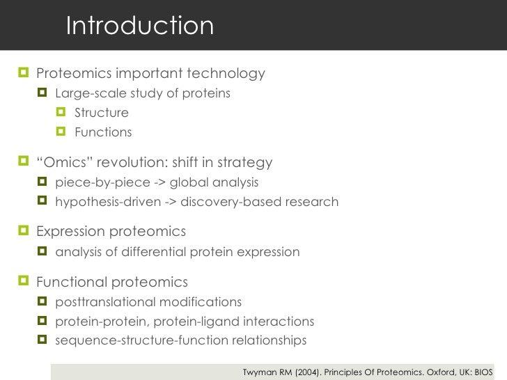 Proteomics Slide 2