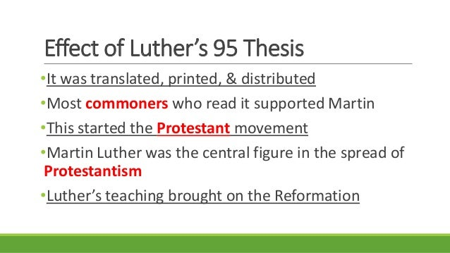 what were the 95 theses yahoo Short term and long term martin luther's 95 theses thew people saw that they could ask for forgiveness themselves and that baptism and holy communion were the.