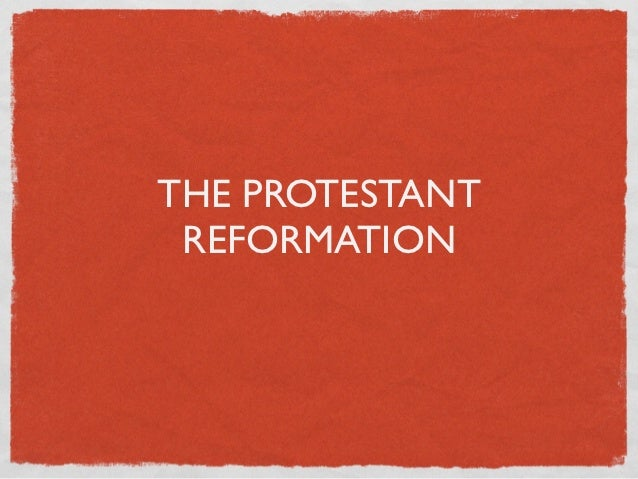 The Reformation Revision Notes – Junior Cert