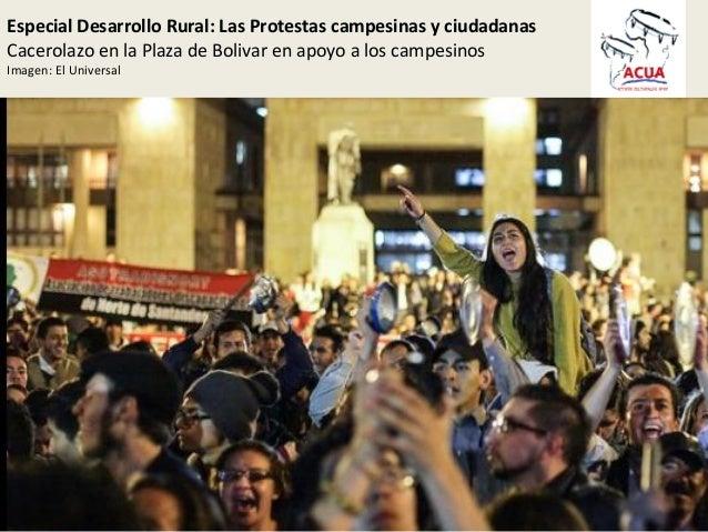 Protestas campesinas Slide 3