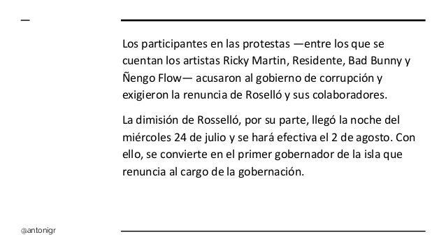 Las protestas creativas de Puerto Rico Slide 3